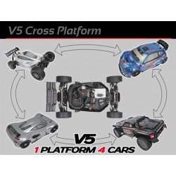 XR5 Max to W5 Max Spec Conversion Kit
