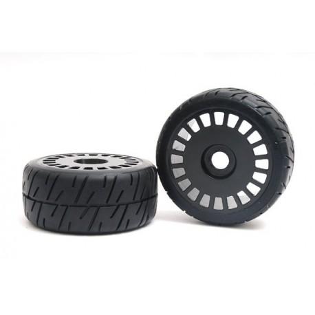 Rally X4 Tyre Black Wheel Assy