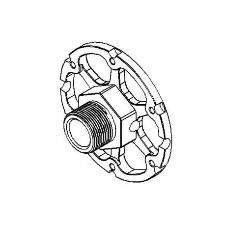 Hydrax Wheel / Disc Drive Block