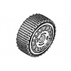 Tyre 160mm Micro Stud BS + Wheel
