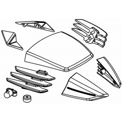 RR5 Body Shell Composite Accessories