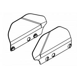 Rear Wishbone Mudguards