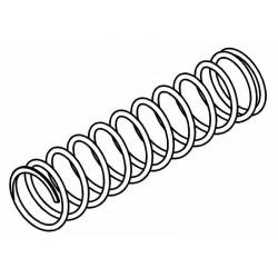 Rear Shock Absorber Spring 8.5kg/75mm (2.4mm)