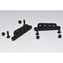 V4-X4 Alloy Lower Wishbone Plastic Shock Holders