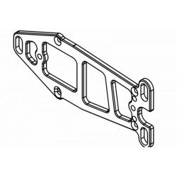 Engine Carrier Plate Lightweight 7075 Anodised