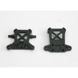 [1059] Rear Tower Plastic Int/Ext Set For RR Competition