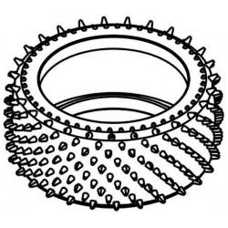Tyre 155mm Astro-Max White Spot 60 SH