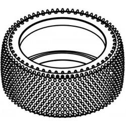 Tyre 155mm Astro-Grip Yellow Spot 70 SH