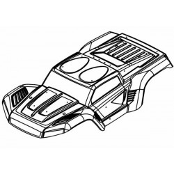 W5 Body Shell Kit Complete