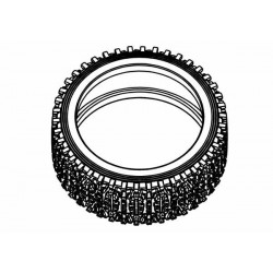 Tyre 160mm Dirt Xross Rally Blue Medium