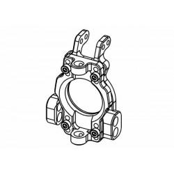 0°±4° Adjustable Caster Block Set Alloy