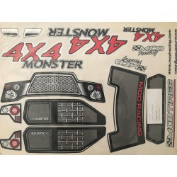 Monster Truck Decal Set